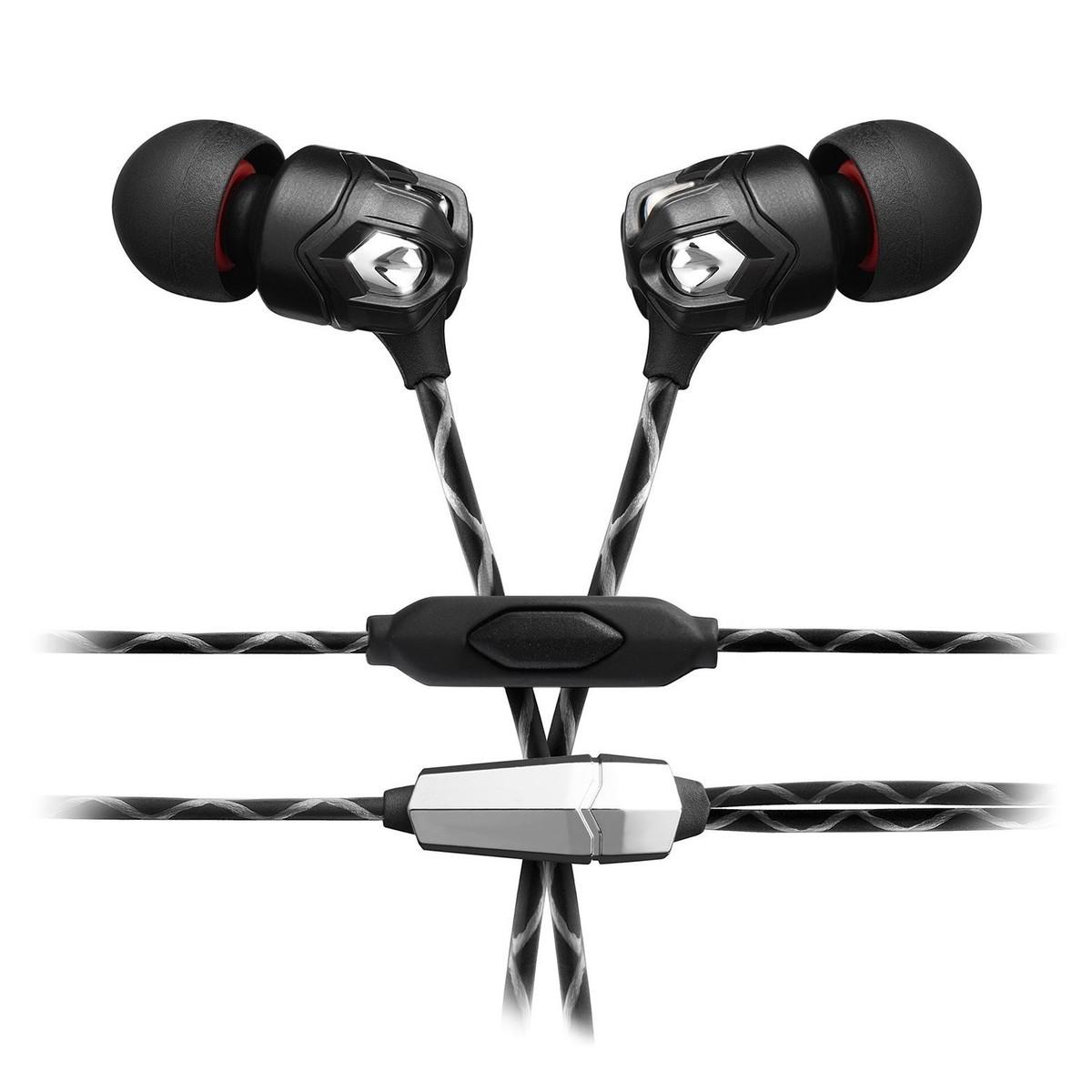V-Moda ZN In-Ear Headphones, 1 Button Remote