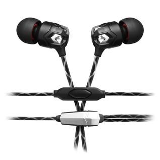 V-Moda ZN In-Ear Headphones, 1 Button Remote - Angled