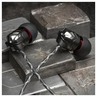 V-Moda ZN In-Ear Headphones, 1 Button Remote - Lifestyle