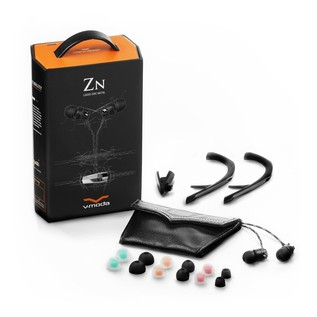 V-Moda ZN In-Ear Headphones With 3-Button Remote - Full Contents