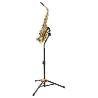 Herclues DS730B AGS Performance Saxophone Stand With Saxophone