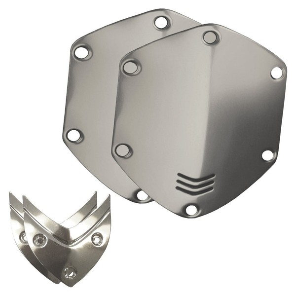 V-Moda Over-Ear Metal Shield Kit, Chrome