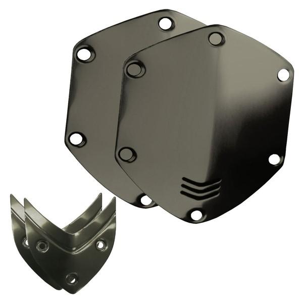 V-Moda Over-Ear Metal Shield Kit, Gun Metal