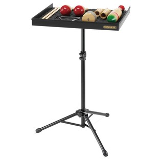 Herclues DS800B Percussion Tray Stand With Instruments