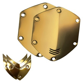 V-Moda Over-Ear Metal Shield Kit, Gold