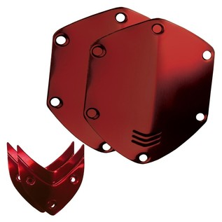 V-Moda Over-Ear Metal Shield Kit, Red