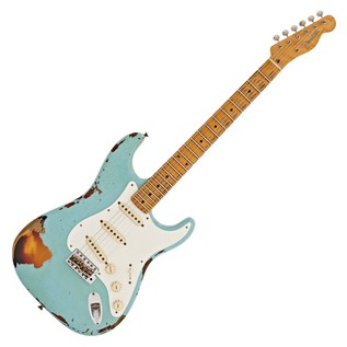 Fender Custom Shop Limited Heavy Relic Mischief Maker, Blue/Sunburst