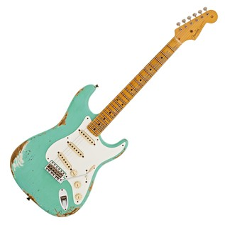 Fender Custom Shop Limited 1956 Relic Strat Faded Foam Green CZ526550
