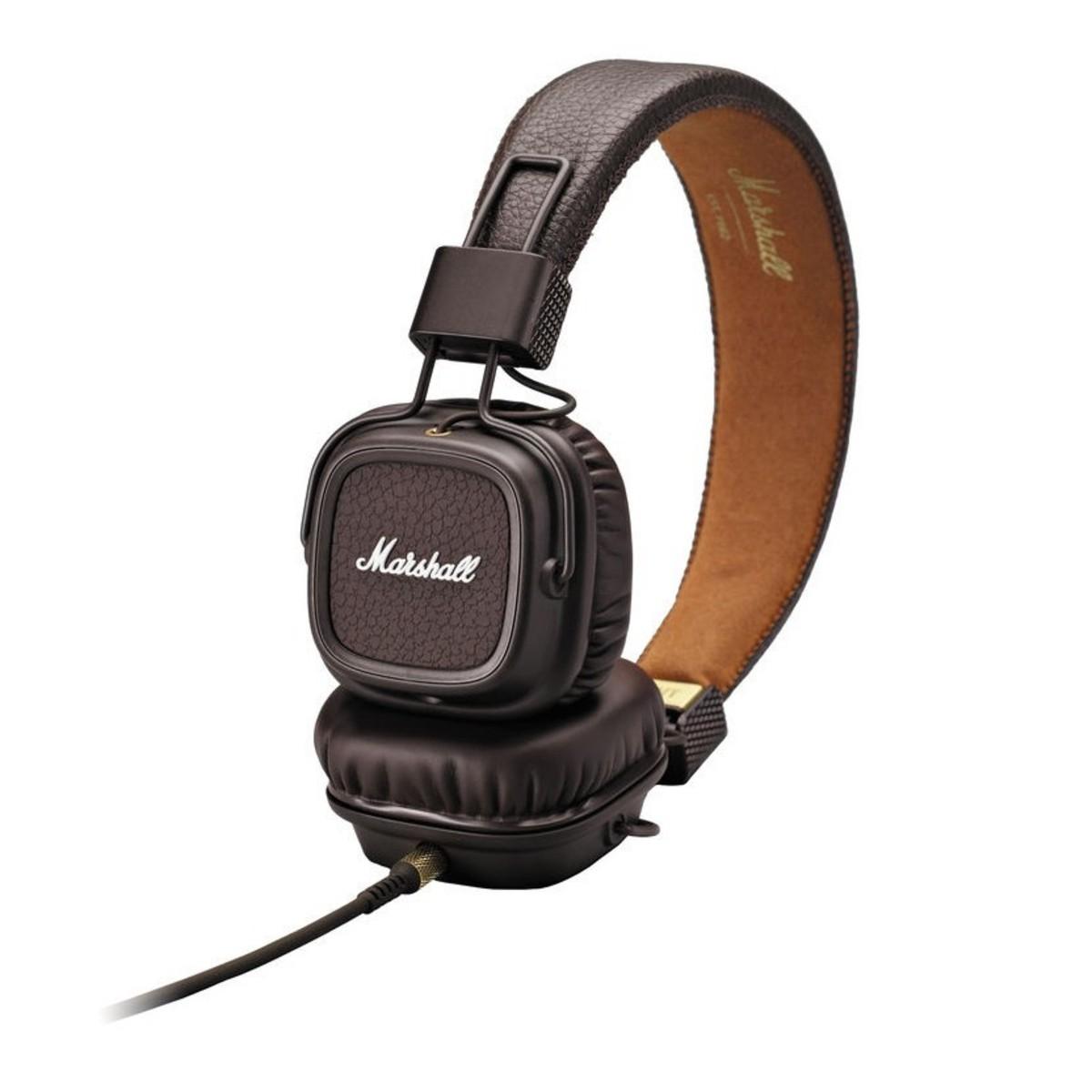 marshall major ii headphones brown at gear4music. Black Bedroom Furniture Sets. Home Design Ideas