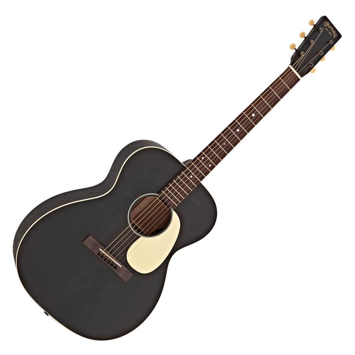Click to view product details and reviews for Martin 000 17e Electro Acoustic Guitar Black Smoke.