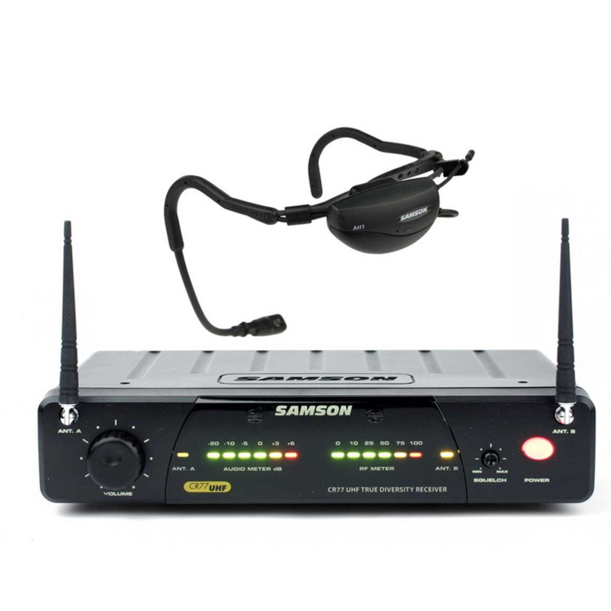 Samson AirLine 77 UHF Aerobic Wireless Headset System - Box Opened ...