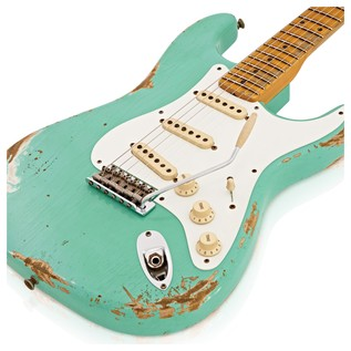 Fender Custom Shop Limited 1956 Relic Strat Faded Foam Green CZ527480