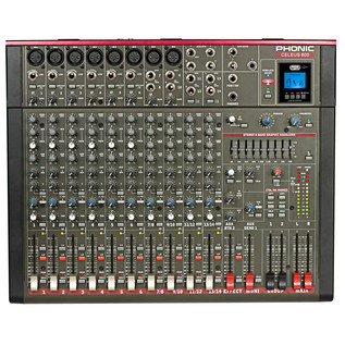 Phonic Celeus 800 Analog Mixer with USB Recorder and Bluetooth