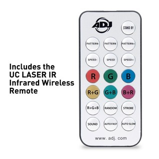 ADJ Micro Royal Galaxian II Remote