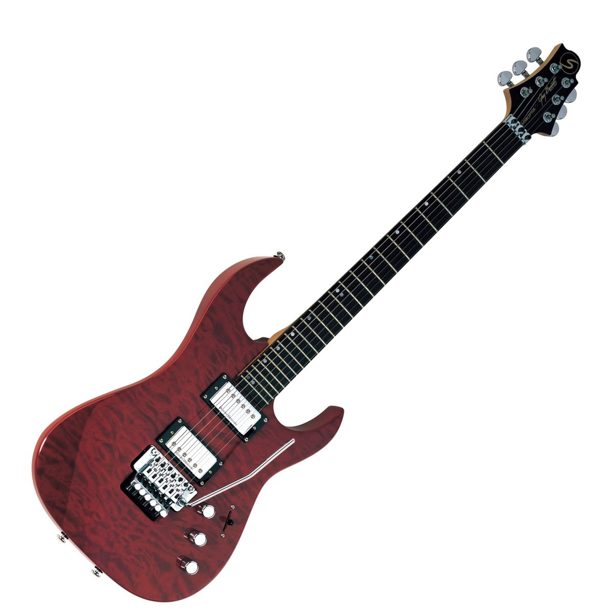 What Are Electrical Instruments : Greg bennett interceptor ic electric guitar trans red