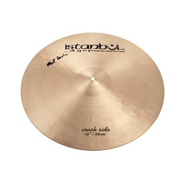 "Istanbul Agop 19"" Mel Lewis Signature Crash Ride Cymbal"