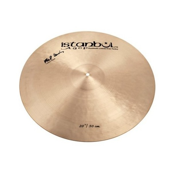 "Istanbul Agop 20"" Mel Lewis 1982 Signature Ride Cymbal"