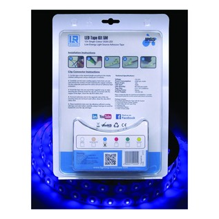 Blue 5 Metre LED Tape Kit