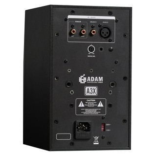 Adam A3X Active Studio Monitor - Rear