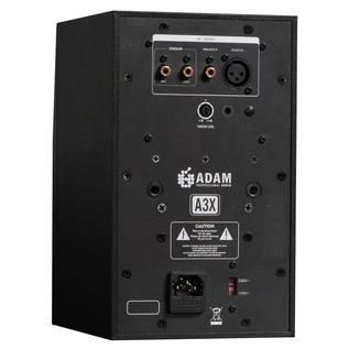 Adam A3X Studio Monitors - Rear