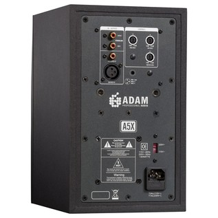 Adam A5X Active Studio Monitor - Rear