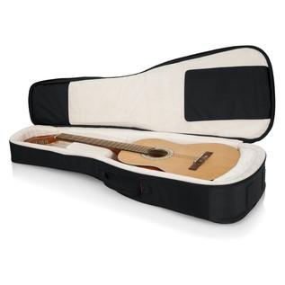 Gator ProGo Ultimate Gig Bag for Classical Guitars inside