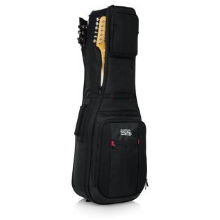 Gator ProGo Ultimate 2X Gig Bag for Electric Guitars Frnt Loaded