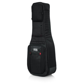 Gator ProGo Ultimate 2X Gig Bag for Electric Guitars Frnt Angle