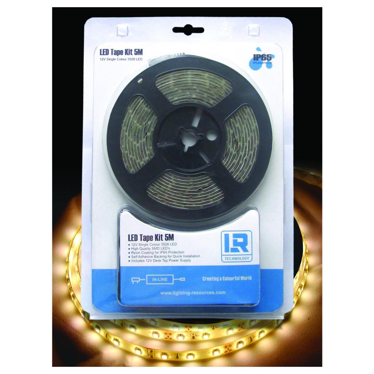 LR-Technologie LED Band Beleuchtungssatz 5M warmweiß bei Gear4music