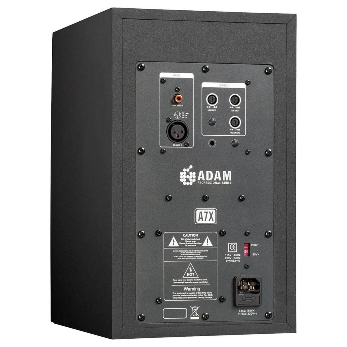 Adam A7X Studiomonitore mit Isolierung Pads und Kabel, paar bei ...