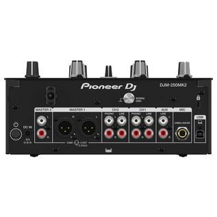 Pioneer DJM-250MK2 2-Channel DJ Mixer - Rear