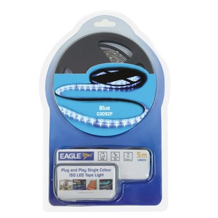 Eagle Flexible LED Tape Light Kit 5m With PSU, Blue