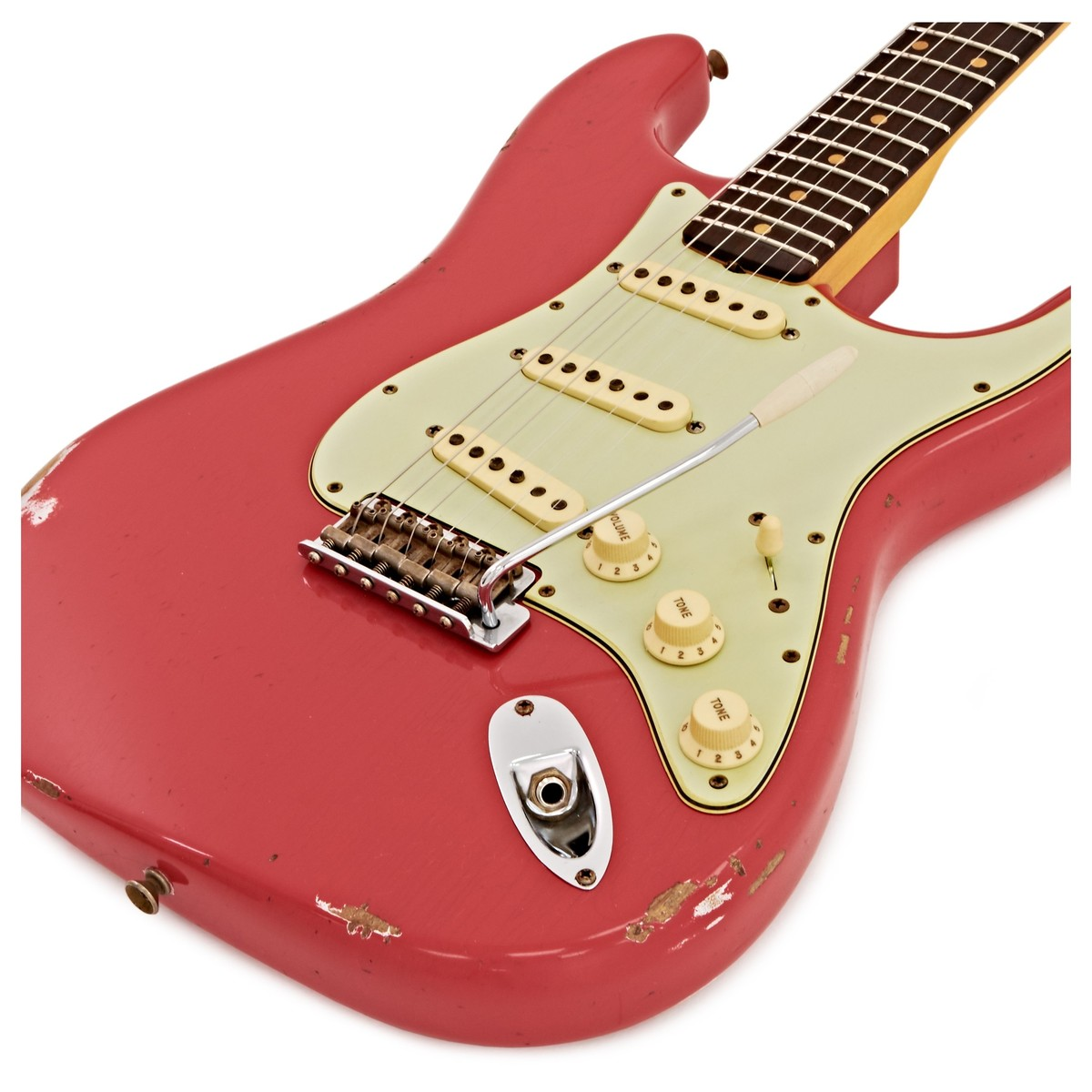 Fender Custom Shop 1961 Relic Stratocaster Fiesta Red Loading Zoom