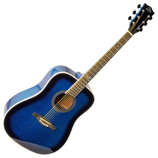 Eko NXT D Acoustic Guitar, Blue SBT