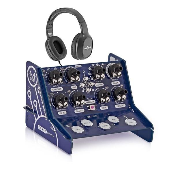 Modal CRAFTsynth Monophonic Synthesizer Kit With Headphones - Bundle