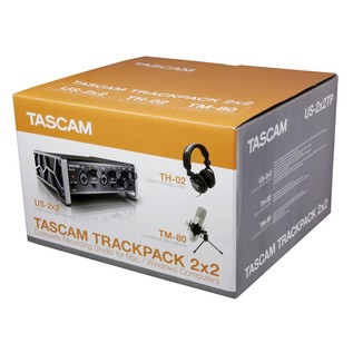 Tascam Trackpack 2x2 5