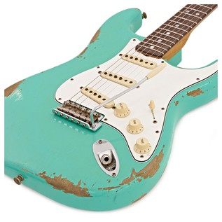 Fender Custom Shop 1967 Heavy Relic Strat Sea Foam Green #CZ527480
