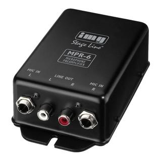 IMG Stageline MPR-6 Microphone Pre-Amplifier
