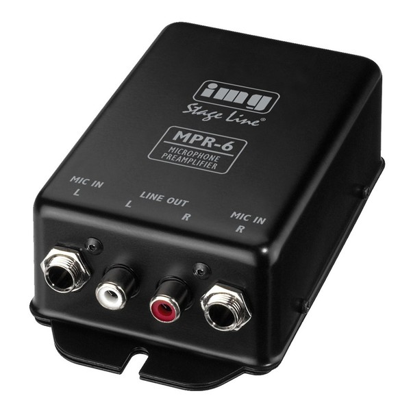 IMG Stageline MPR-6 Microphone Pre-Amplifier