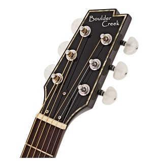 Boulder Creek ECR1 Solitaire Electro Acoustic, Black
