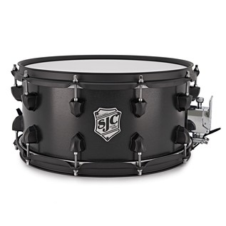 SJC Drums Tour 14 x 7 Snare Drum, Black with Black HW