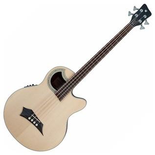 Warwick Rockbass Alien Deluxe 4-String Acoustic Bass, Natural