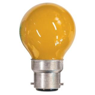 Crompton Lamps Carnival Bulb, Amber