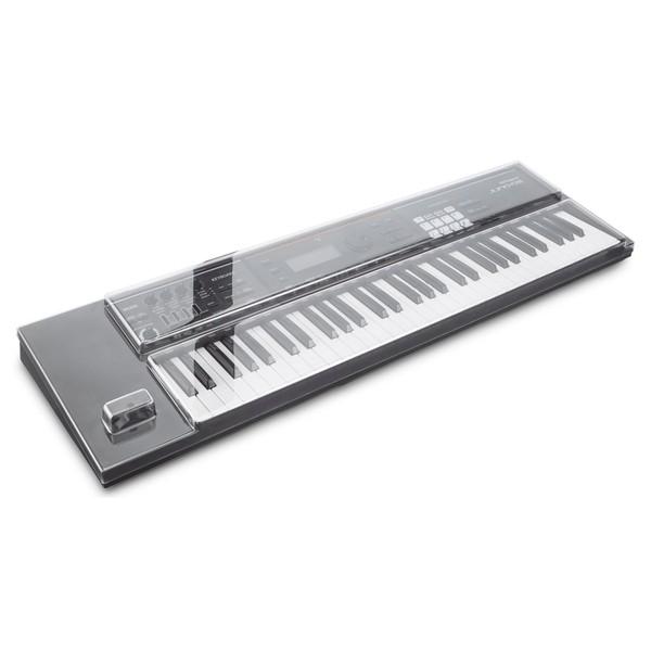 Decksaver Roland Juno DS 61 Cover - Angled