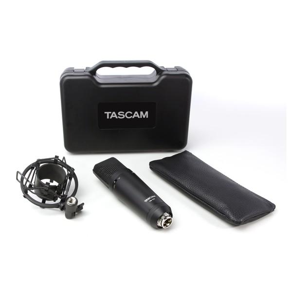 Tascam TM-180 Large-Diaphragm Condenser Microphone 2
