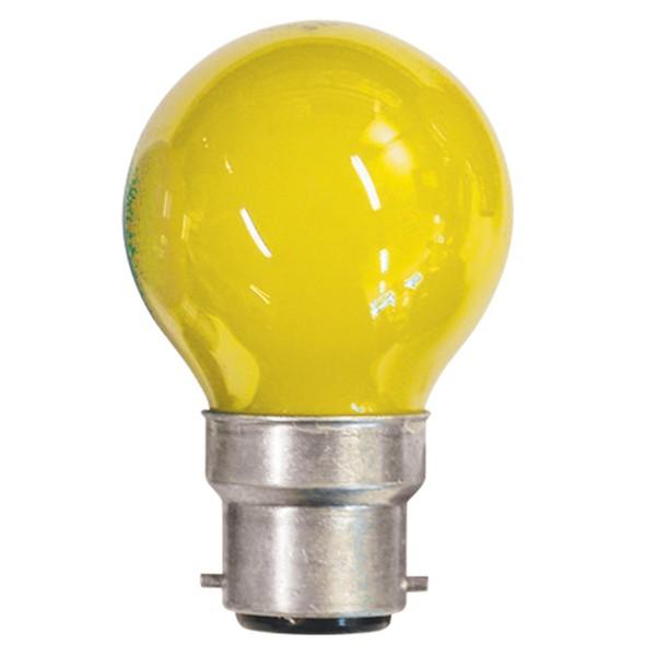 Crompton Lamps Carnival Bulb, Yellow