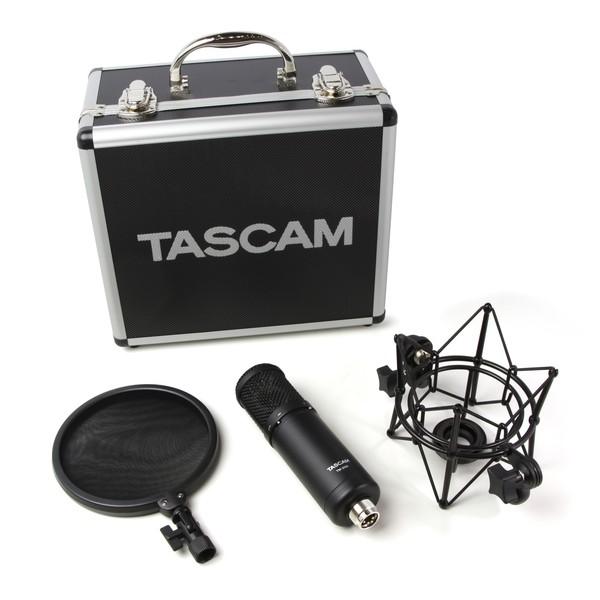 Tascam TM-280 Large-Diaphragm Condenser Microphone 2