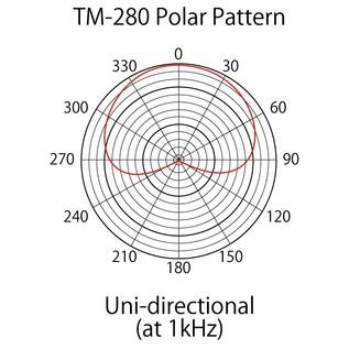 Tascam TM-280 Large-Diaphragm Condenser Microphone 4