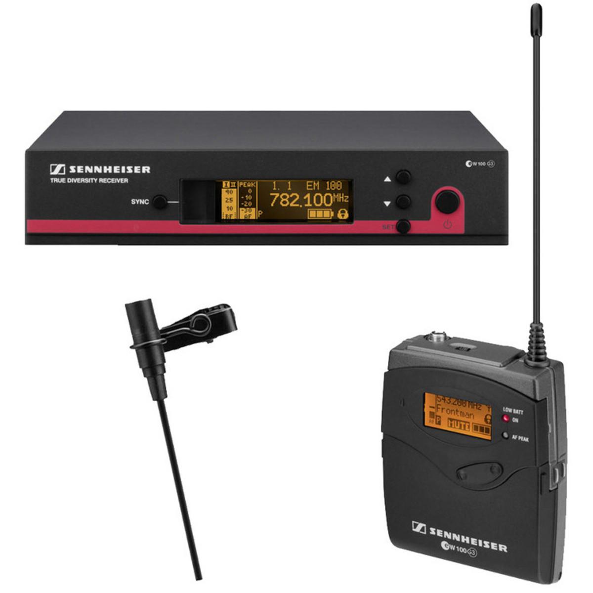 sennheiser ew 112 g3 gb wireless lavalier microphone system b stock at gear4music. Black Bedroom Furniture Sets. Home Design Ideas