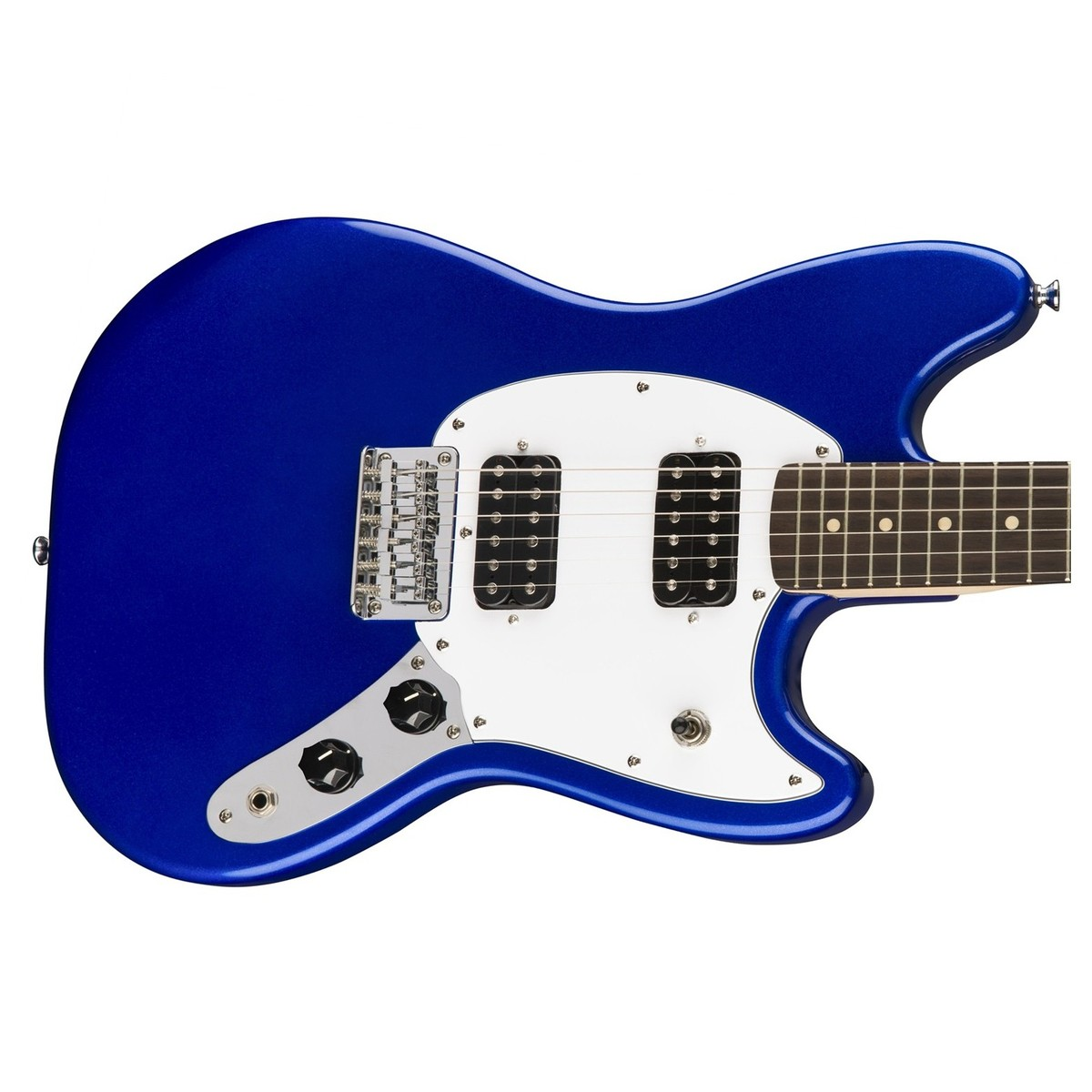 disc squier by fender bullet mustang hh imperial blue at. Black Bedroom Furniture Sets. Home Design Ideas